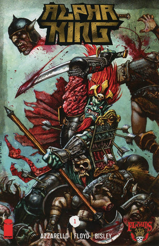 3 FLOYDS ALPHA KING #1 1st PRINT COVER