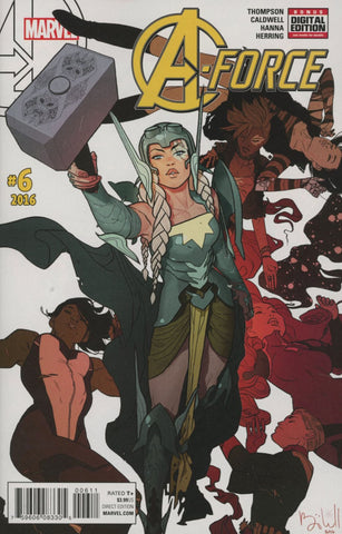 A-FORCE VOL 2 #6