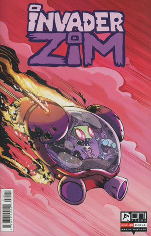 INVADER ZIM #10 REGULAR 1st PRINT COVER