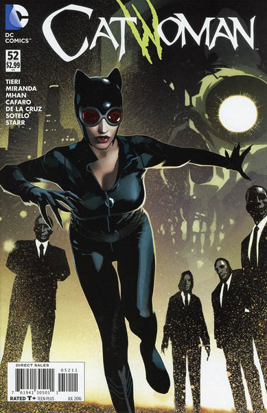 CATWOMAN VOL 4 #52 1st PRINT COVER