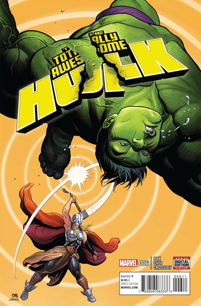 TOTALLY AWESOME HULK #6 1st PRINT MIKE CHOI COVER