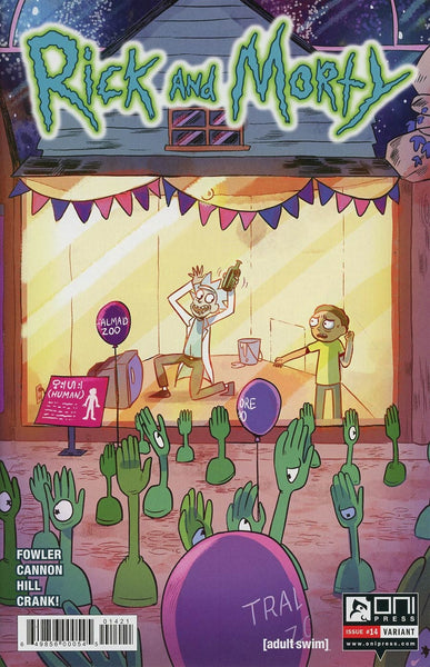RICK & MORTY #14 SAVANNA GANUCHEAU INCENTIVE VARIANT