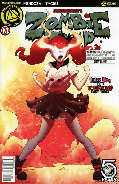 ZOMBIE TRAMP #23 ONGOING CVR A TMCHU