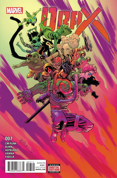 DRAX #7 1st PRINT COVER