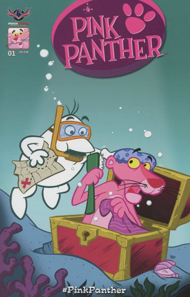 PINK PANTHER #1 CLASSIC PINK VARIANT CVR