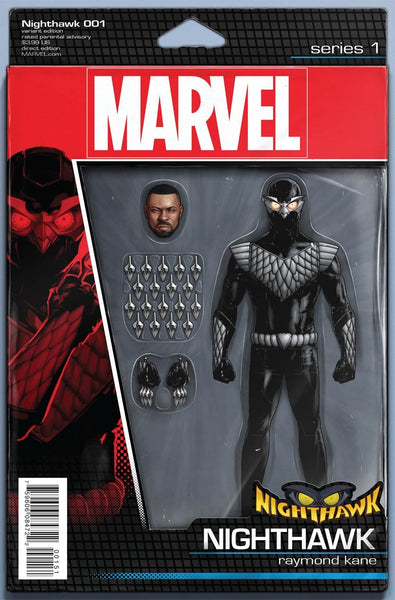 NIGHTHAWK #1 JOHN TYPER CHRISTOPHER ACTION FIGURE VARIANT