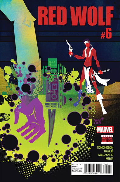 RED WOLF VOL 2 #6 1st PRINT COVER