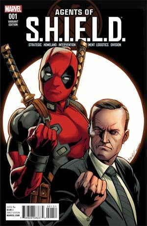 AGENTS OF SHIELD #1 BAGLEY DEADPOOL VAR
