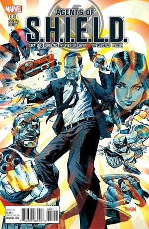 AGENTS OF SHIELD #1 PANOSIAN VAR
