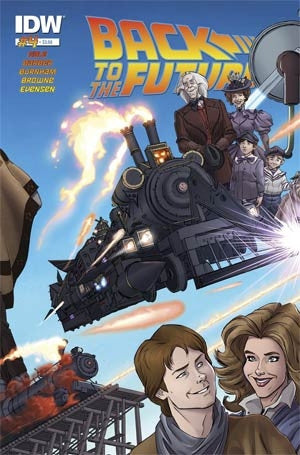 BACK TO THE FUTURE #4 (OF 5)