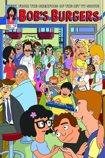 BOBS BURGERS ONGOING #2 CVR B DE LA CRUZ
