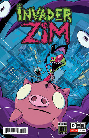 INVADER ZIM # 1 COMICS DUNGEON EXCLUSIVE