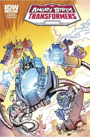 Angry Birds Transformers #3 Cover A