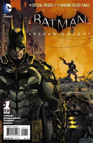 Batman Arkham Knight #1 Cover A