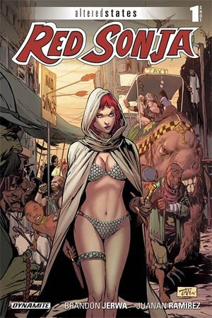 Altered States Red Sonja One Shot Cover A