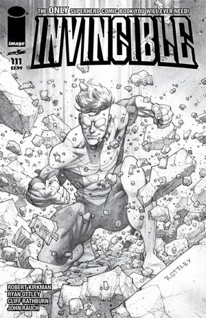 Invincible #111 Cover B Variant