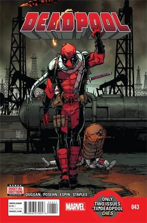 Deadpool Vol 4 #43 Cover A