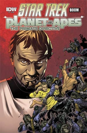 Star Trek Planet Of The Apes #4 Cover A