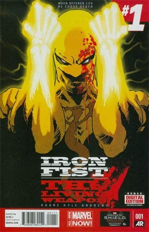 Iron Fist Living Weapon #1 Cover A