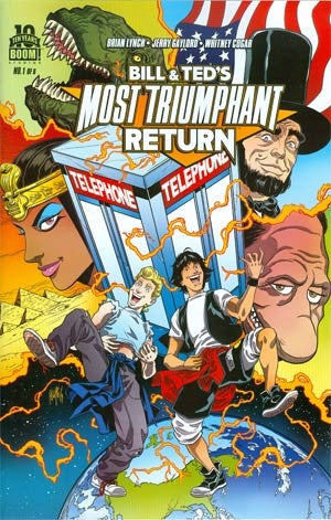 Bill & Teds Most Triumphant Return #1 Cover A