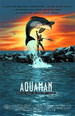 Aquaman Vol 5 #40 Cover B Variant Free Willy WB Movie Poster Cov
