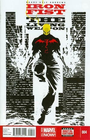 Iron Fist Living Weapon #4 Cover A