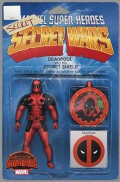 DEADPOOLS SECRET SECRET WARS #1 ACTION FIGURE VAR