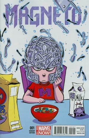 Magneto Vol 3 #1 Cover C Skottie Young Variant