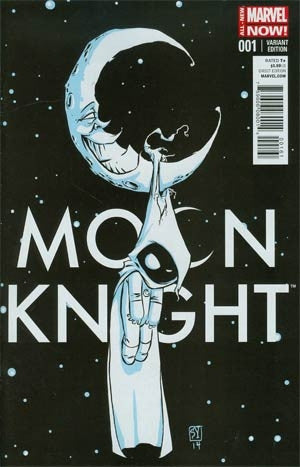 Moon Knight Vol 7 #1 Cover C Skottie Young  Variant