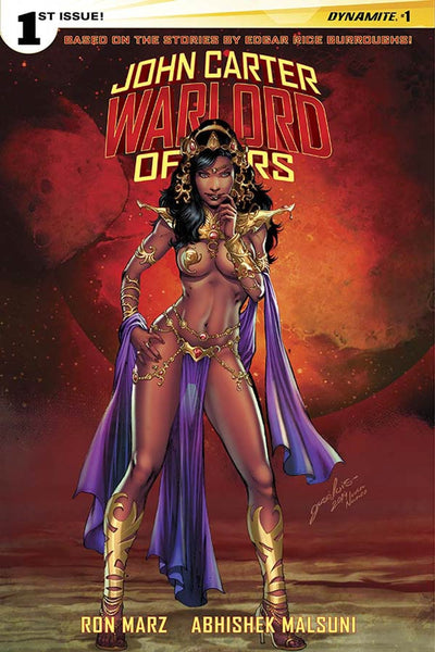 John Carter Warlord Of Mars Vol 2 #1 Cover K Incentive