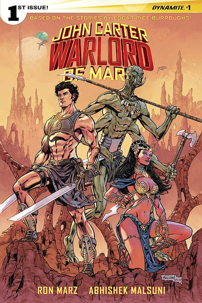 John Carter Warlord Of Mars Vol 2 #1 Cover L Incentive