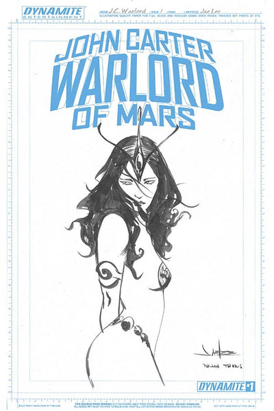 John Carter Warlord Of Mars Vol 2 #1 Cover M Incentive