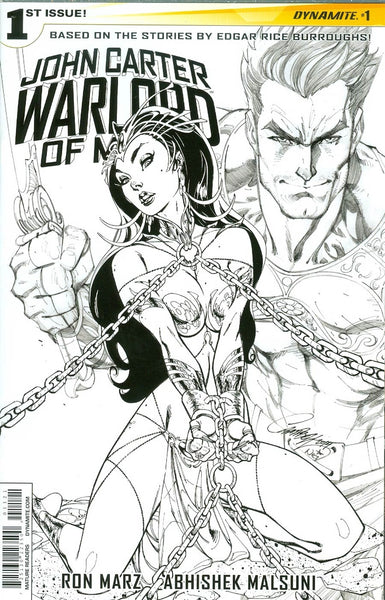 John Carter Warlord Of Mars Vol 2 #1 Cover O Incentive