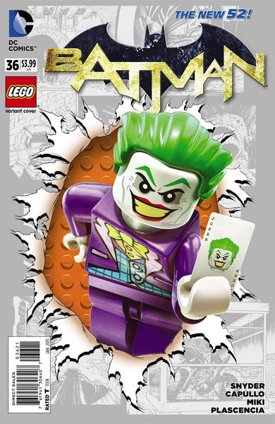 Batman Vol 2 #36 Cover B Lego Variant