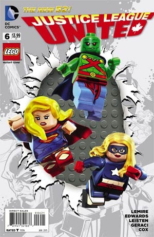 Justice League United #6 Cover B Lego Variant