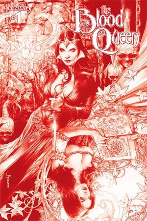 Blood Queen #1 Cover K Rare Jay Anacleto Blood Red Cover