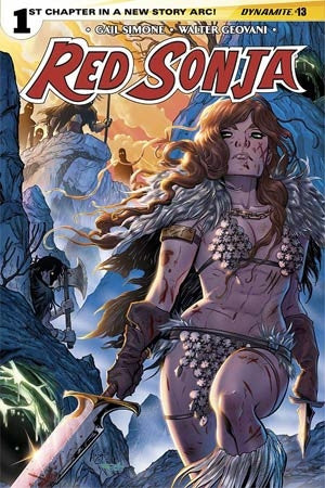 Red Sonja Vol 5 #13 Cover B