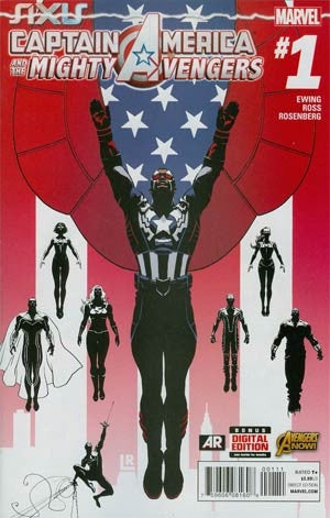 Captain America And The Mighty Avengers #1 Cover A
