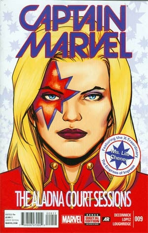 Captain Marvel Vol 7 #9