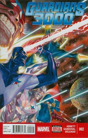 Guardians 3000 #2 Cover A Alex Ross Cover