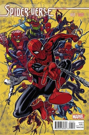 Spider-Verse #1 Cover C Incentive