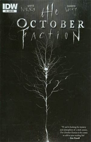 October Faction #2 Cover B