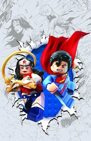 Superman Wonder Woman #13 Cover B Lego Variant
