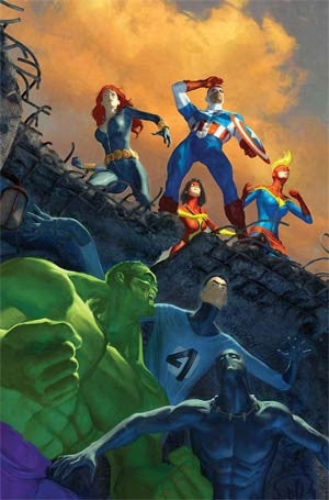 Avengers Vol 5 #38 Cover A Time Runs Out Tie-In