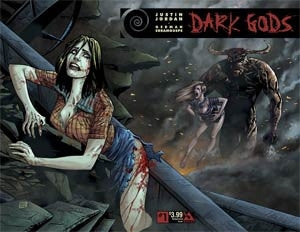 Dark Gods #1 Cover B Wraparound Cover