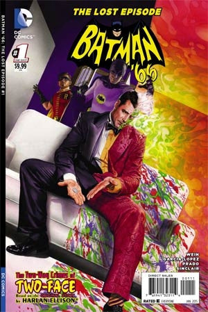 Batman 66 The Lost Episode #1 Cover A