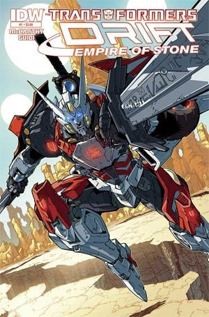 Transformers Drift Empire Of Stone #1 Cover A