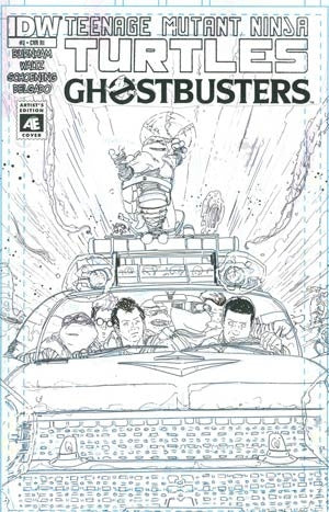 Teenage Mutant Ninja Turtles Ghostbusters #2 Incentive