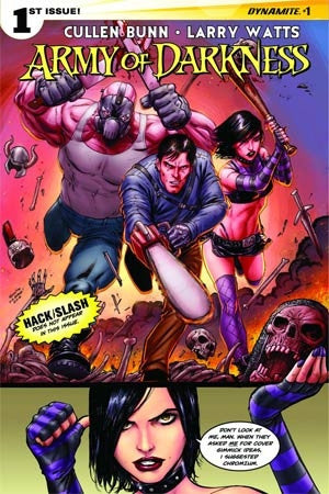 Army Of Darkness Vol 4 #1 Cover B