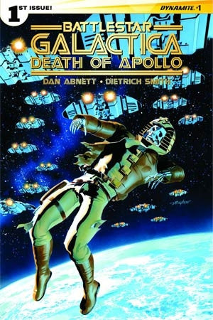 Battlestar Galactica Death Of Apollo #1 Cover A